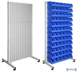 Static Louvered Rack Kits BRSKIT Combined