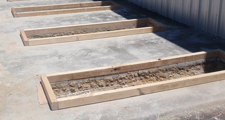 Concrete-Footings